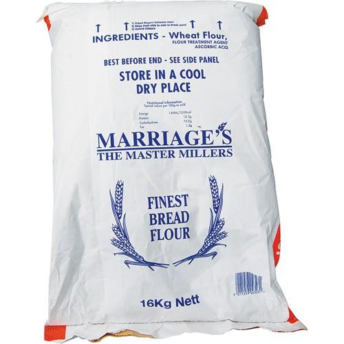 Marriages Golden Crust Bread Flour 16kg