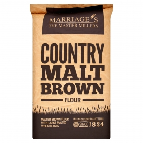 Marriages Country Malt Bread Flour 16kg