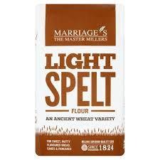 Marriages Light Spelt Flour 1kg