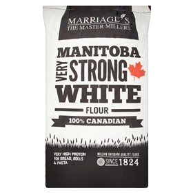 Marriages 100% Canadian Very Strong White Bread Flour 16kg