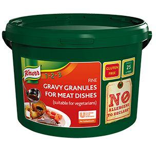 Knorr Gravy Granules-Meat(Gluten Free) 25ltr