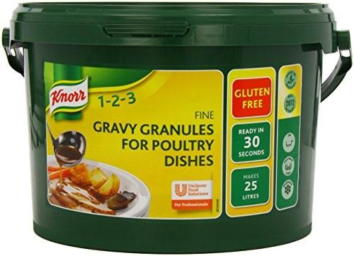 Knorr Gravy Granules-Poultry(Gluten Free) 25ltr