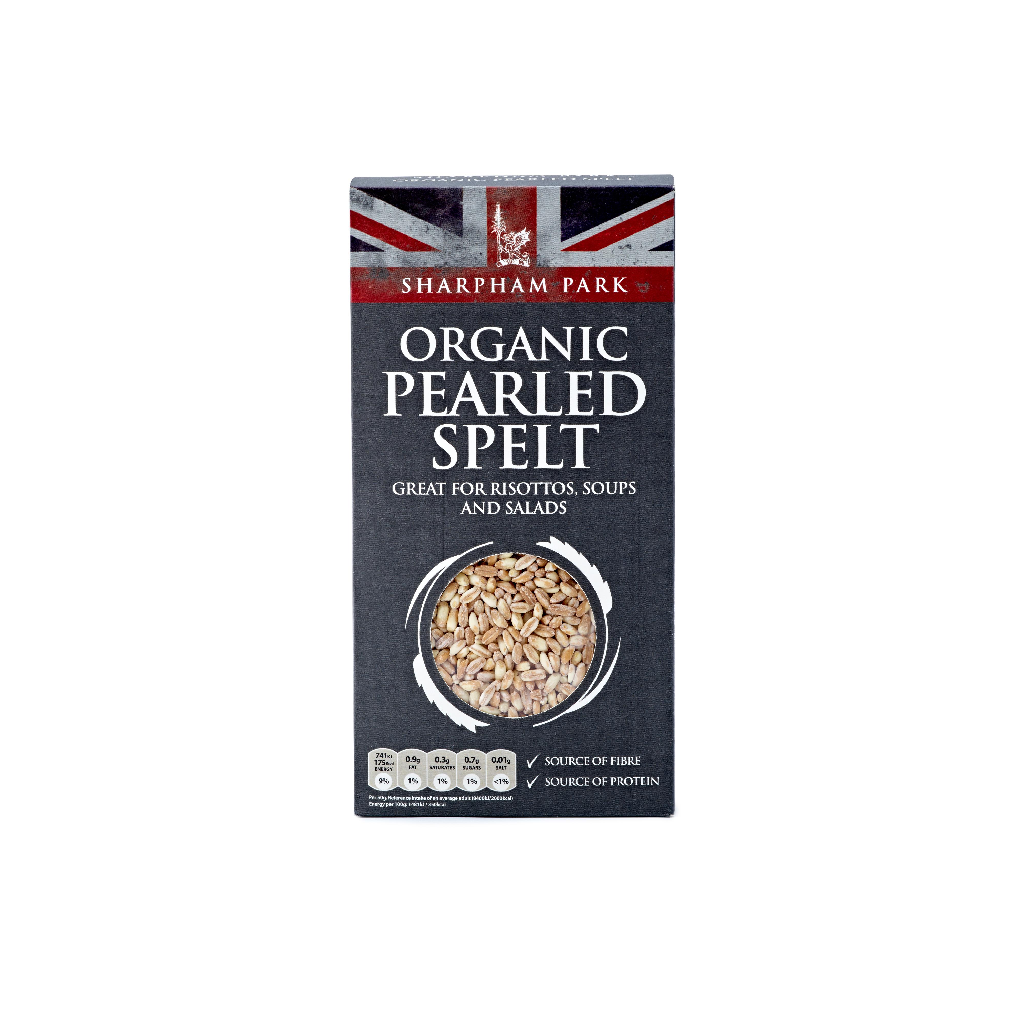 Sharphams Organic Spelt 500g