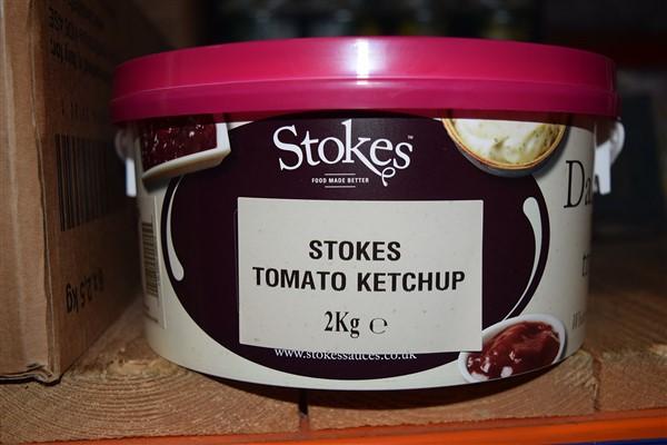 Stokes Tomato Ketchup 2kg