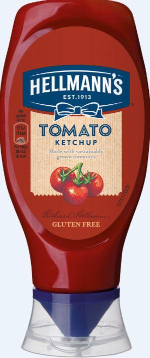 Hellmanns Tomato Ketchup 430ml