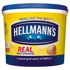 Hellmanns Mayonnaise 5ltr