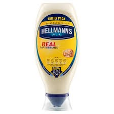 Hellmanns Mayonnaise 8 x 430ml