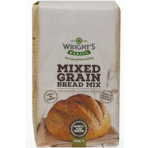 Wrights Mixed Grain Bread Mix 5 x 500g