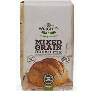 Wrights Mixed Grain Bread Mix 5 x 500g