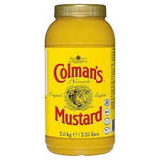 2 x Colmans English Mustard 2.25ltr For £15 OFFER
