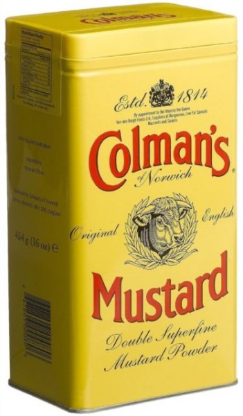 Colmans English Mustard Powder 454g