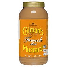 2 x Colmans French Mustard 2.25ltr For £15 OFFER