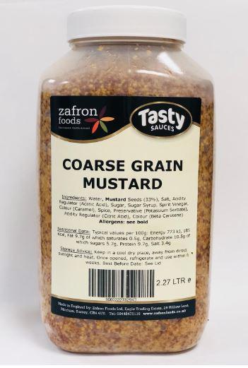 Zafron Coarse Grain Mustard 2.27ltr
