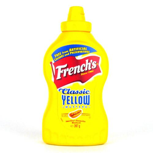 Frenchs Classic American Yellow Mustard 8 x 226g