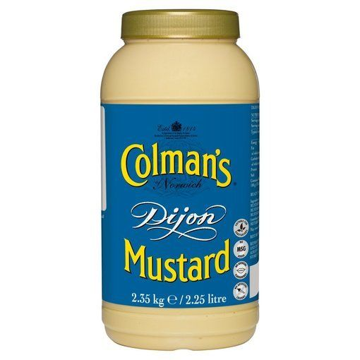 Colmans Dijon Mustard 2.25ltr