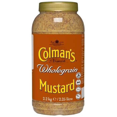 Colmans Wholegrain Mustard 2.25ltr