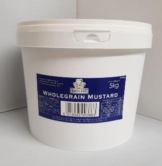 Chefs Brigade Wholegrain Mustard 5kg