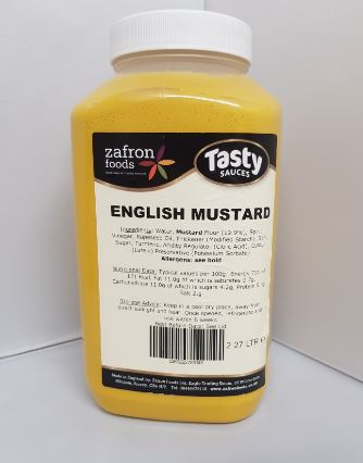 Zafron English Mustard 2.27kg