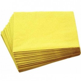 Swantex Sunny Yellow Napkins 33cm 2ply x100