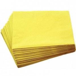 Yellow Napkins 33cm x100