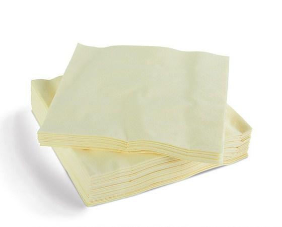 Cream Napkins 40cm 3ply x100