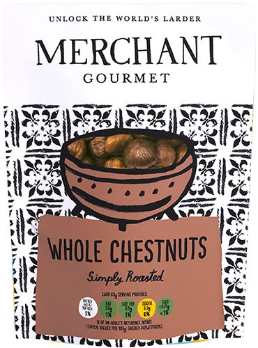 Whole Chestnuts 180g
