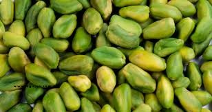 Peeled Bright Green Pistachios 1kg