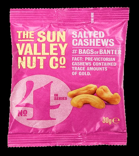 Sun Valley Cashew Nuts 12 x 30g