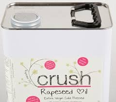 Crush Norfolk Extra Virgin Rapeseed Oil 5ltr