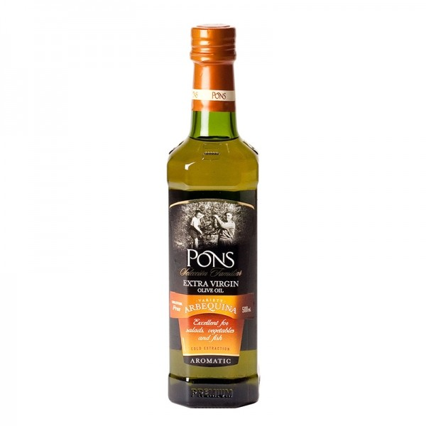 Pons Organic Arbequina Oil 500ml