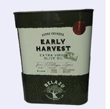 Belazu Early Harvest Extra Virgin Olive Oil 3ltr