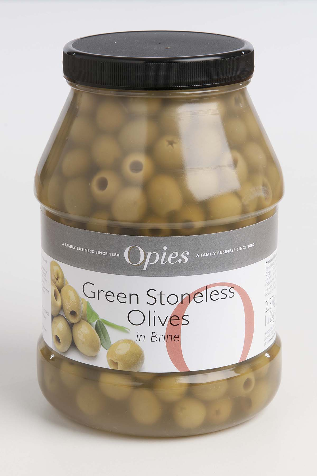 Opies Pitted Green Olives 2.26kg
