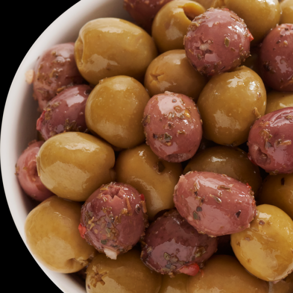 Belazu Pitted Harlequin Olives 2.5kg