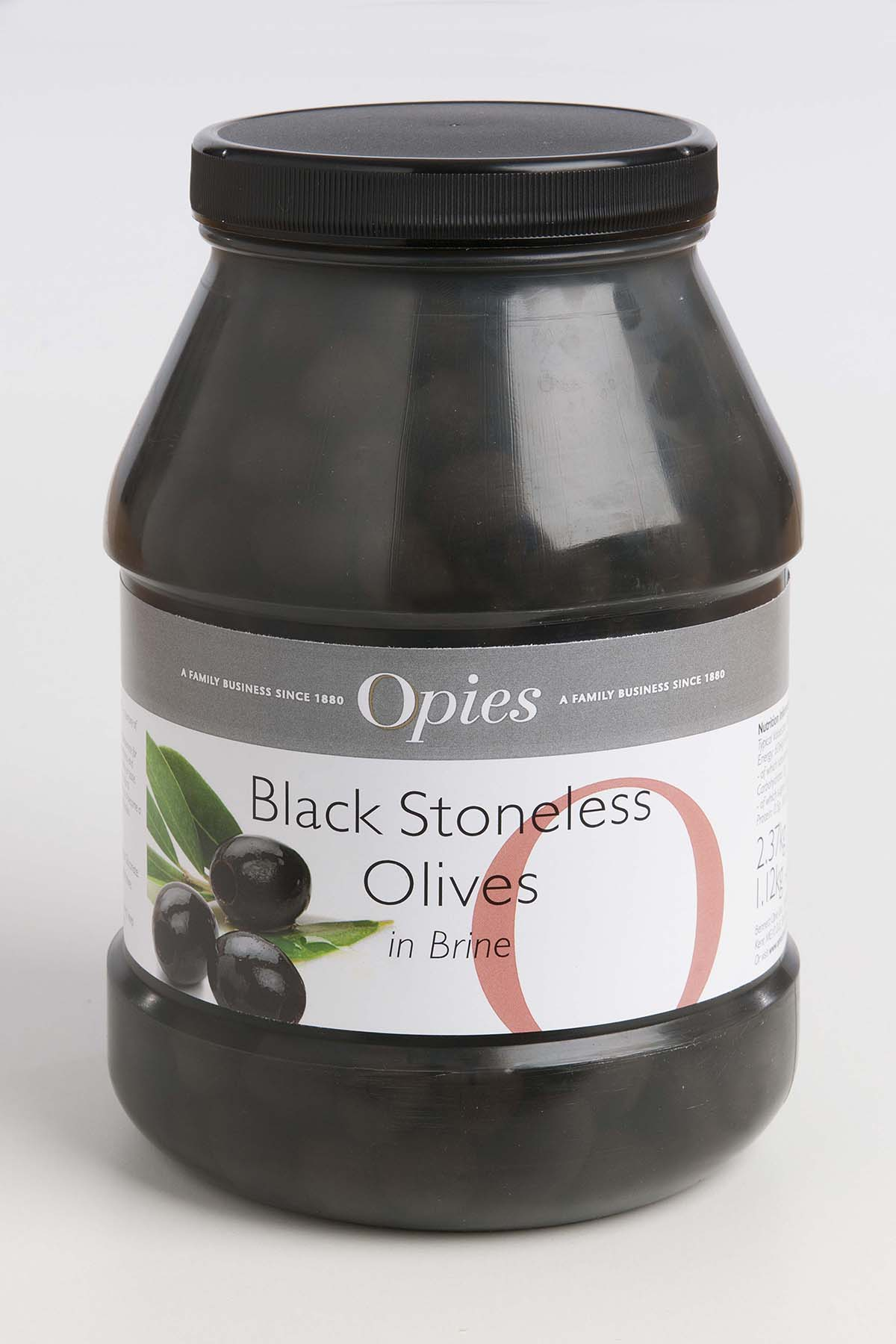 Opies Pitted Black Olives 2.37kg