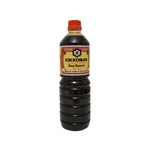Kikkoman Dark Soy Sauce 1ltr