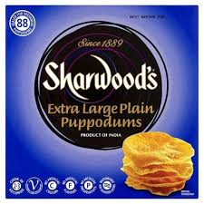 Sharwoods Poppadoms 1kg