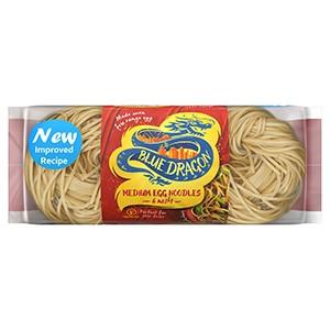 Blue Dragon Medium Egg Noodles 8 x 300g