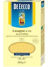 De Cecco Lasagne 500g no112