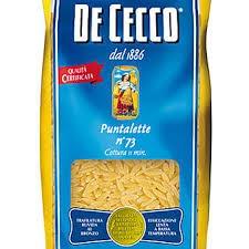 De Cecco Puntalette No 73 500g