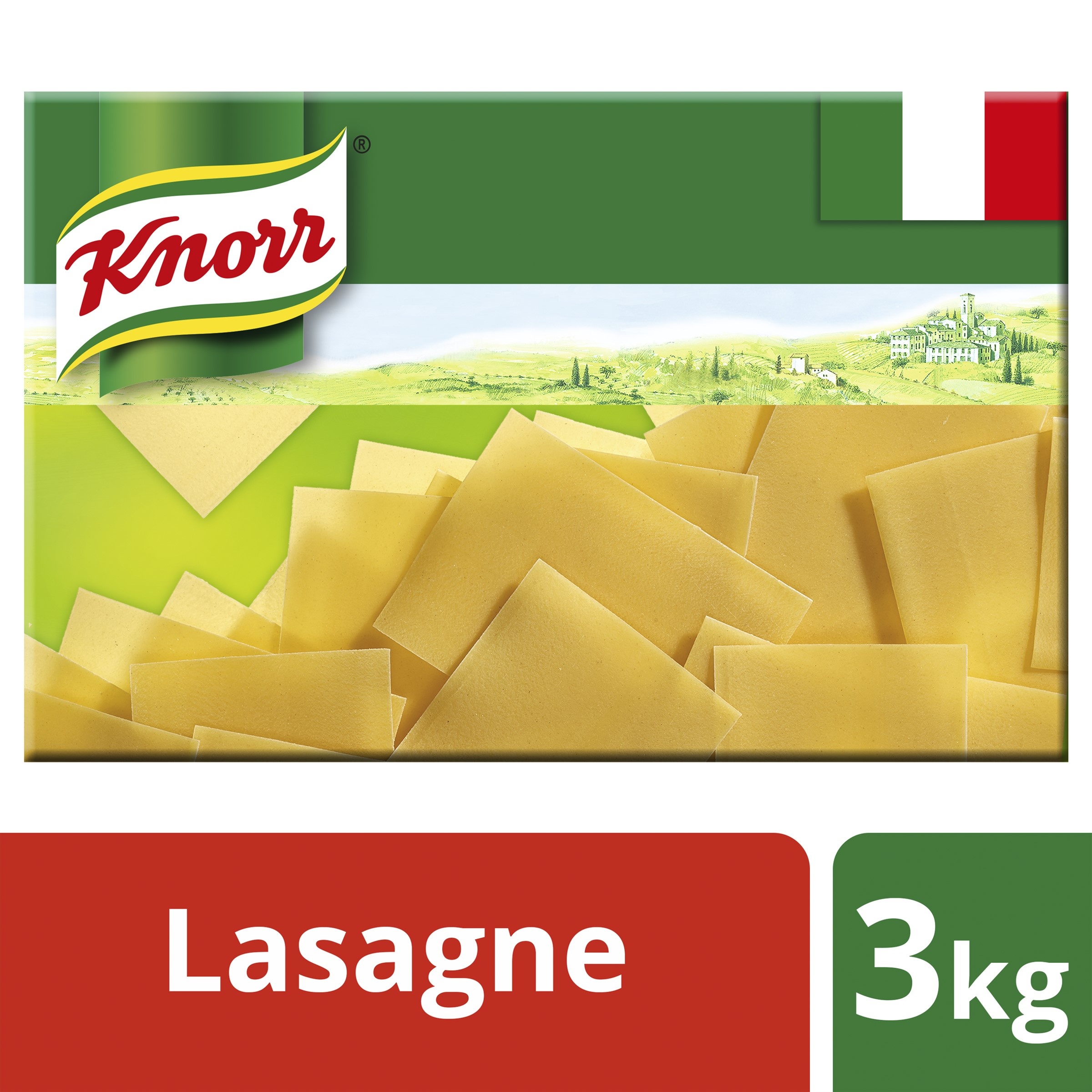 Knorr Lasagne Sheets 3kg