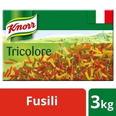 Knorr Tricolore Fusilli Pasta 3kg
