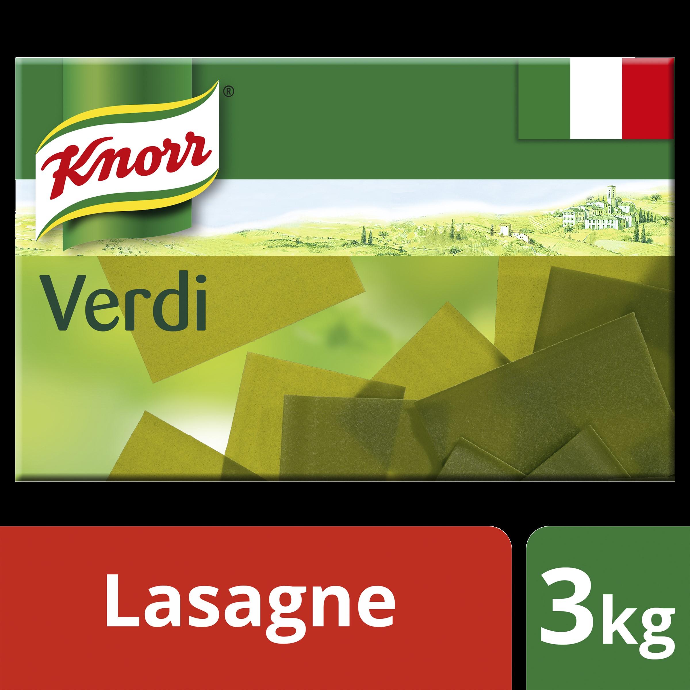 Knorr Lasagne Verdi 3kg