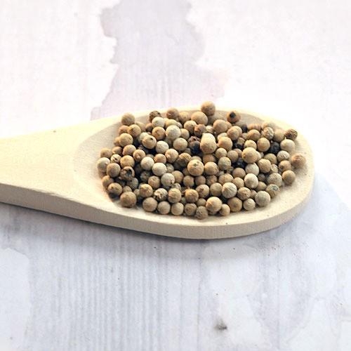 Whole White Peppercorns 550g