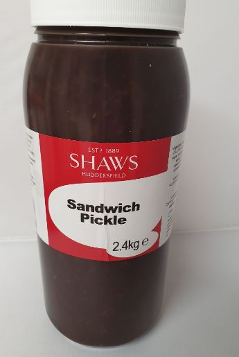 Shaws Sweet Pickle 2.4kg