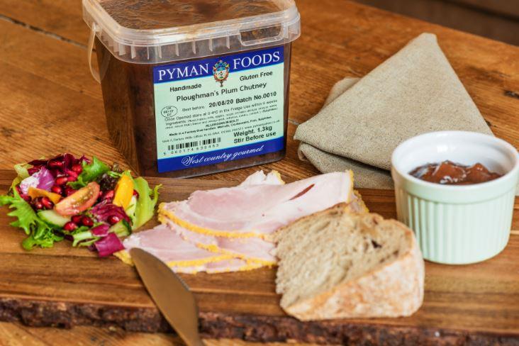 Pyman Ploughmans Plum Chutney 1.3kg