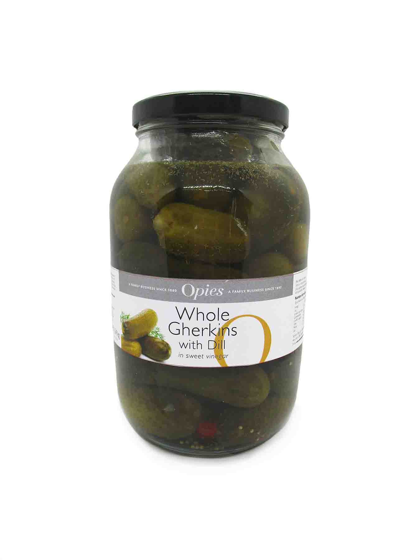 Opies Whole Gherkins with Dill 1.9kg