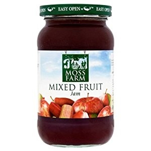 Moss Farm Mixed Fruit Jam 6 x 454g