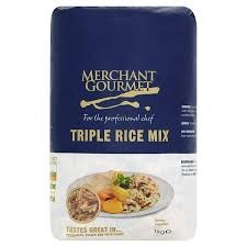Merchant Gourmet Triple Grain Rice 1kg