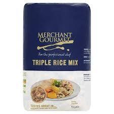 Merchant Gourmet Triple Grain Rice 1kg