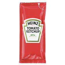 Heinz Tomato Ketchup Sachets 200 x 10ml
